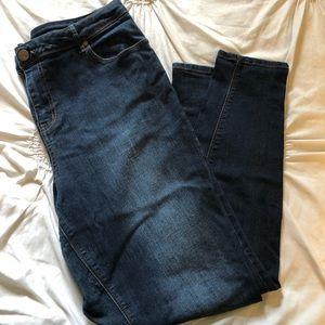 SIZE 18W Curvy Skinny Jeans